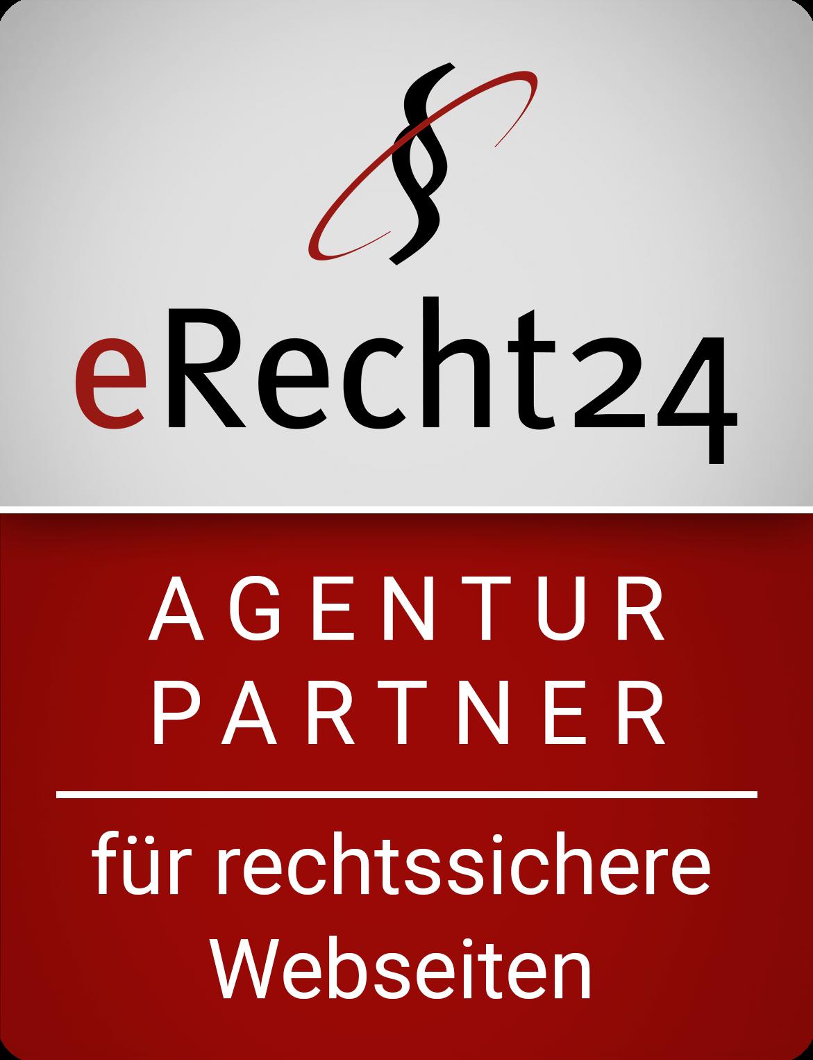Agentur-Siegel von eRecht24