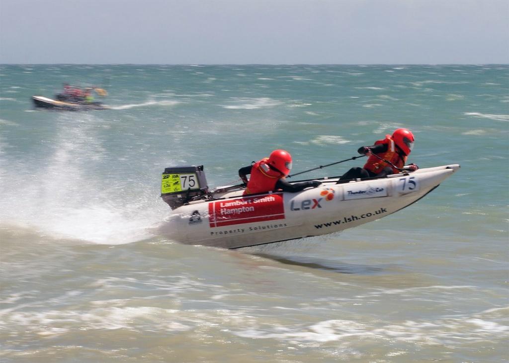 speedboat-Wettkampf